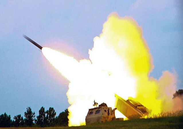 M142 High Mobility Artillery Rocket System (HIMARS), a multiple rocket launcher