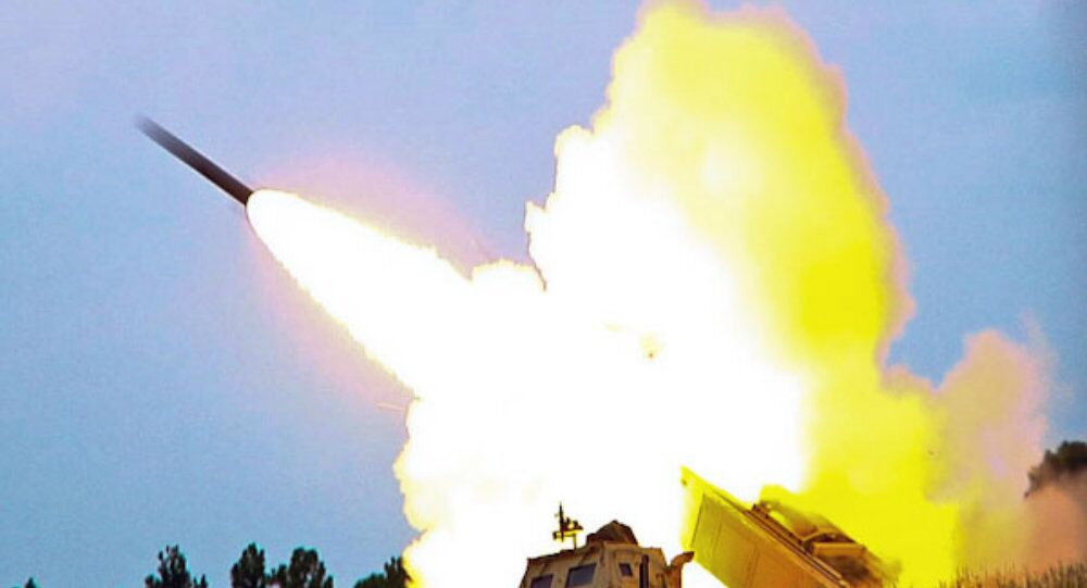 M142 High Mobility Artillery Rocket System (HIMARS), a multiple rocket launcher