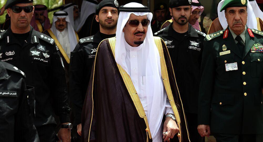 Salman bin Albdulaziz Al Saud, atual rei da Arábia Saudita