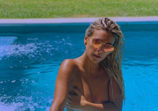 Sol Pérez, apresentadora argentina
