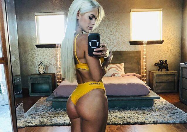 Michelle Lewin, modelo esportiva da Venezuela