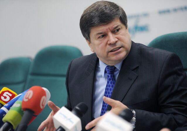 Andrei Neguta, embaixador da Moldávia na Rússia (arquivo)