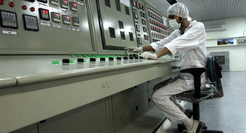 Especialista em uma central nuclear no Irã (arquivo)