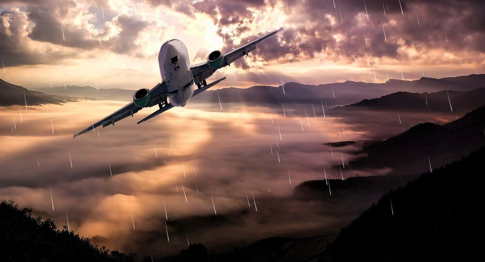 Acidente aéreo (imagem ilustrativa)