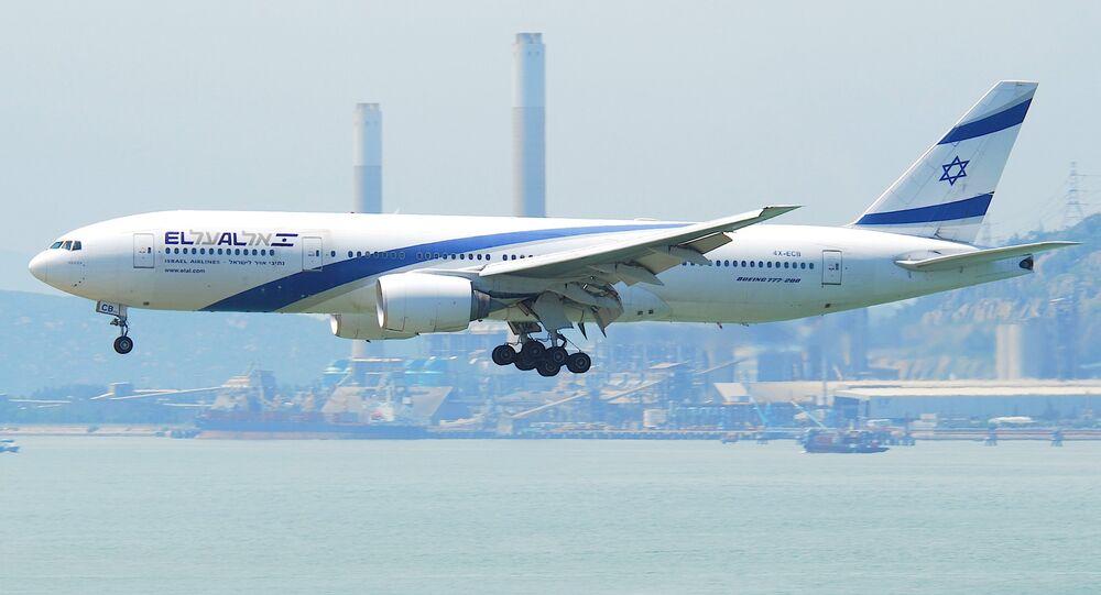 Boeing 777-200 da empresa estatal israelense El Al