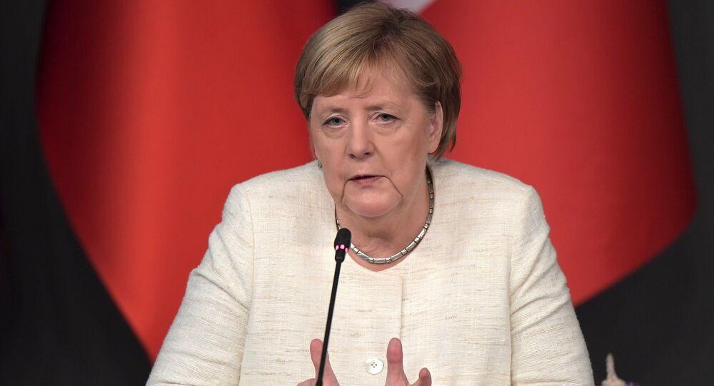 A chanceler da Alemanha, Angela Merkel.