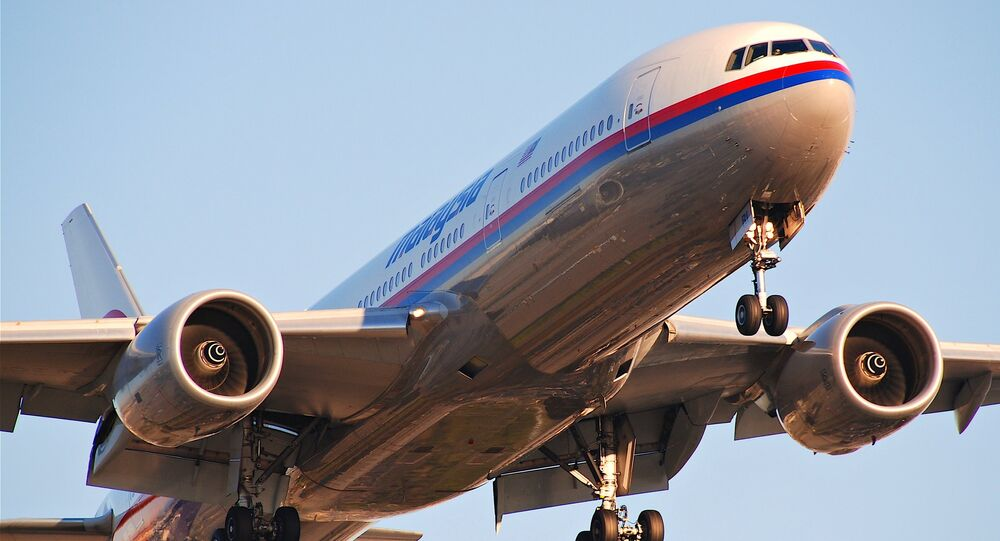 Boeing 777 Malaysia Airlines