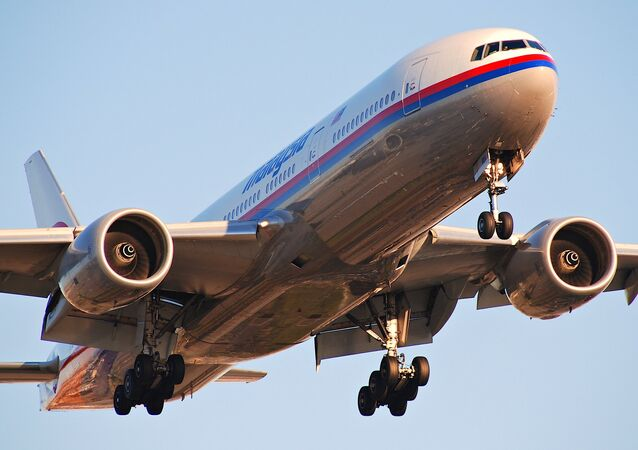 Boeing 777 Malaysia Airlines (imagem referencial)
