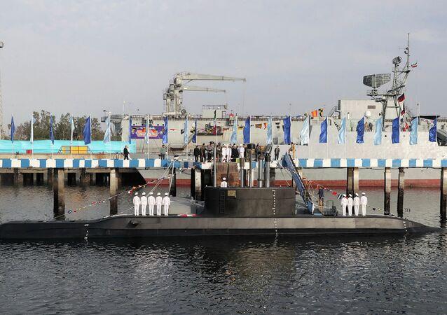 Fateh, novo submarino de fabricação iraniana (foto de arquivo)