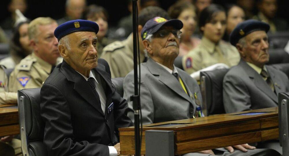 A Câmara realiza sessão em homenagem aos 70 anos do encerramento da participação da Força Expedicionária Brasileira (FEB) na 2ª Guerra Mundial