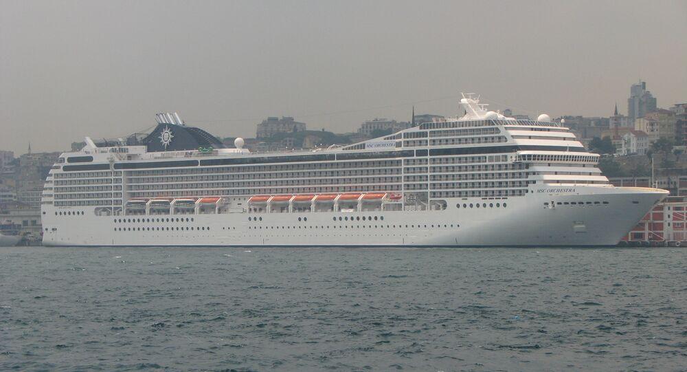 Navio de cruzeiro MSC Orchestra