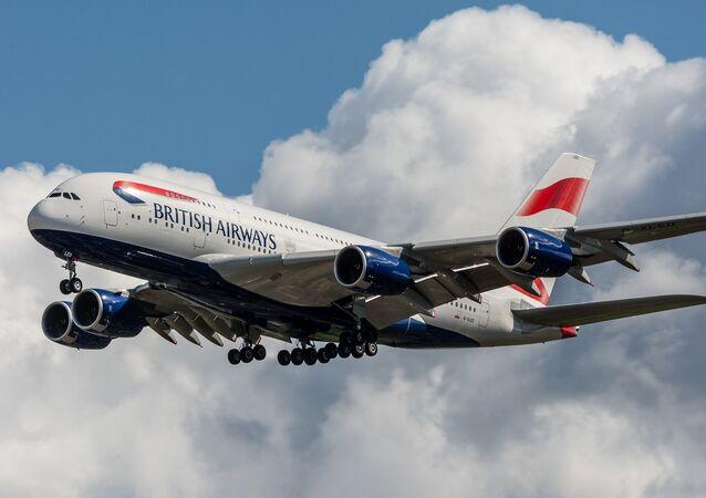 Avião da British Airways (imagem referencial)