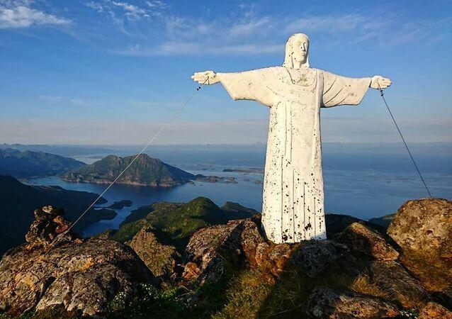 Estátua de Jesus Cristo da Noruega