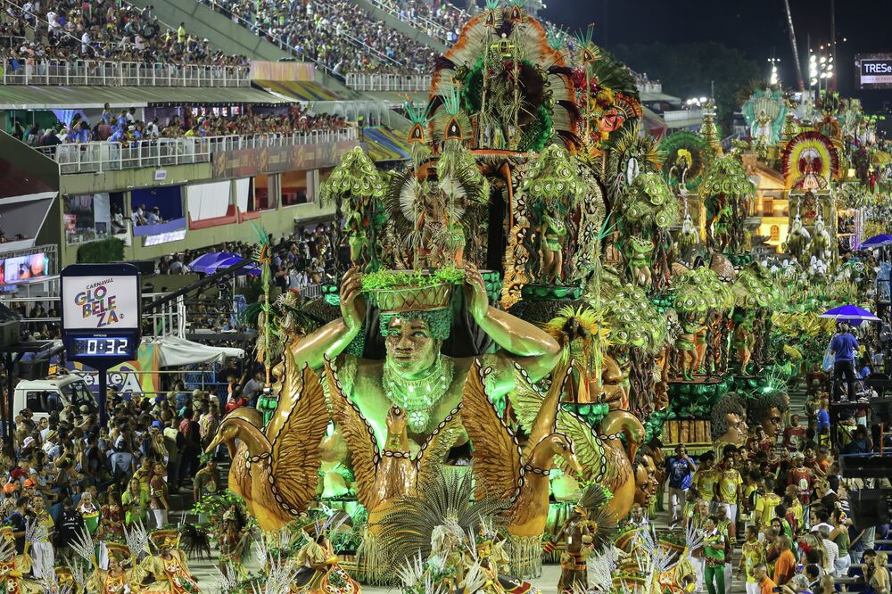 Desfile da Império da Tijuca.