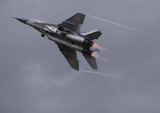 Caça polonês MiG-29 (Arquivo)