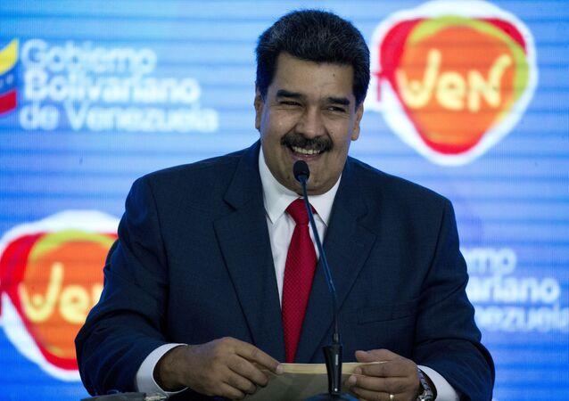 Nicolás Maduro, presidente da Venezuela (imagem de arquivo)