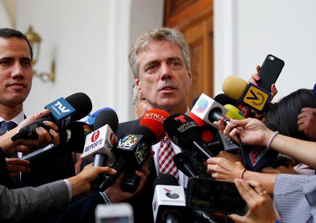 Daniel Kriener, embaixador da Alemanha na Venezuela