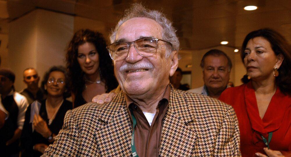 Gabriel García Márquez, escritor colombiano (archivo)