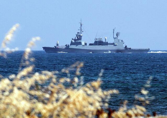 Corveta da Marinha israelense