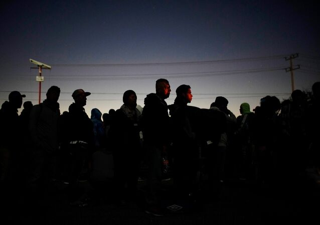 Migrantes centro-americanos