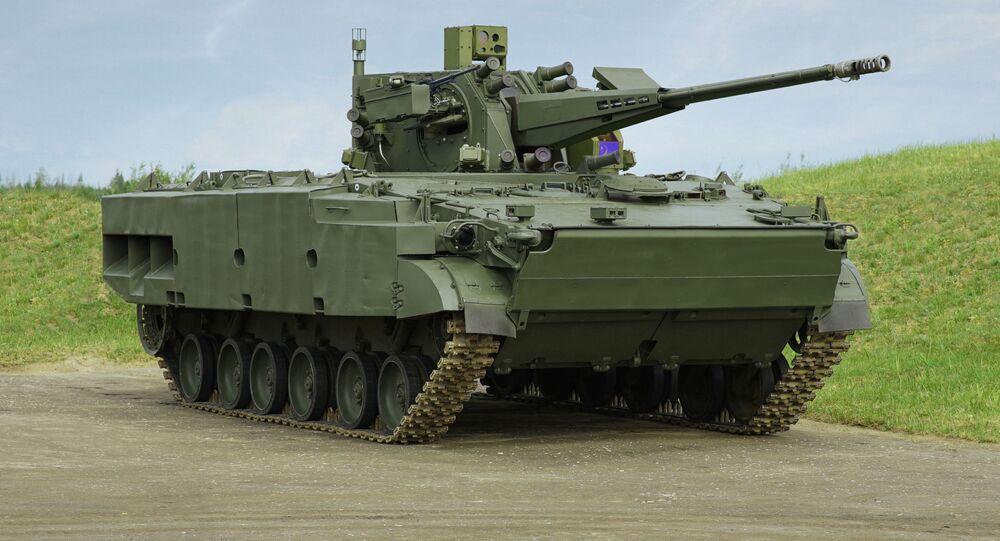 Sistema de artilharia antiaérea Derivatsiya-PVO