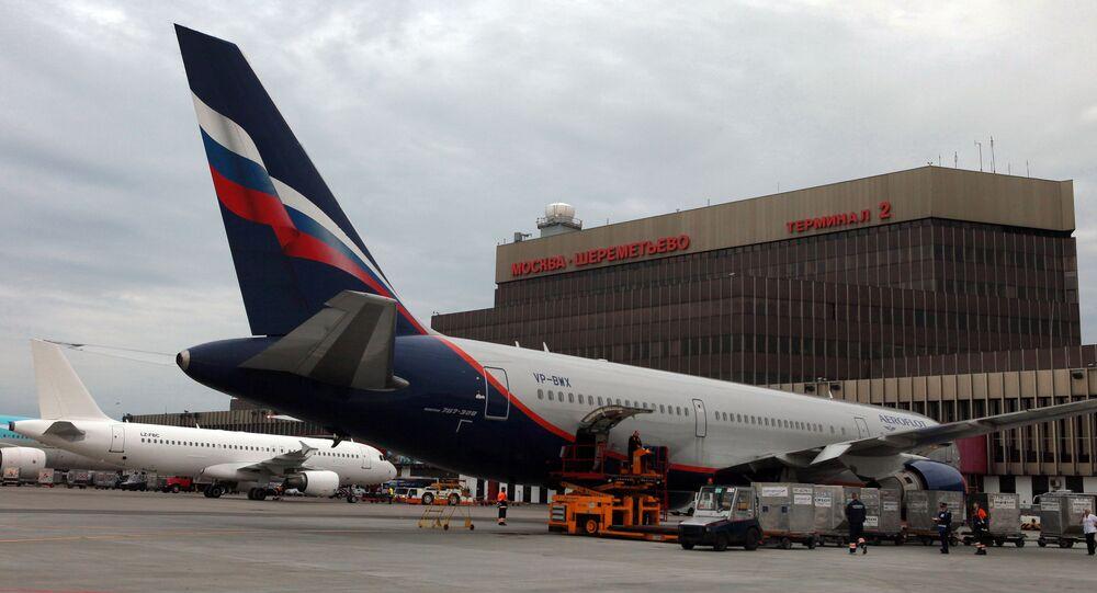 Aeroporto Sheremetyevo de Moscou