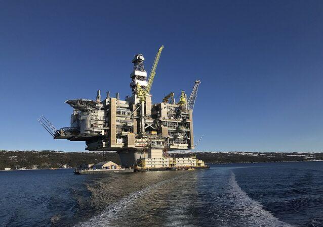 Plataforma petrolífera de Hebron.