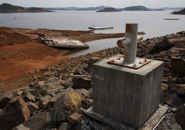Complexo hidrelétrico de Guri,  rio Caroni, no estado venezuelano de Bolívar (arquivo)