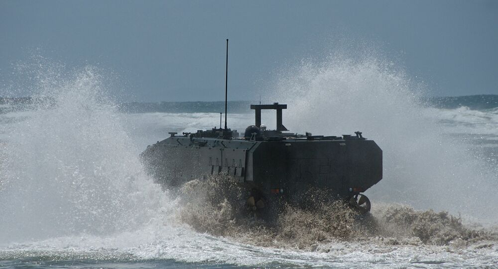 Veículo anfíbio militar (ACV 1.1)