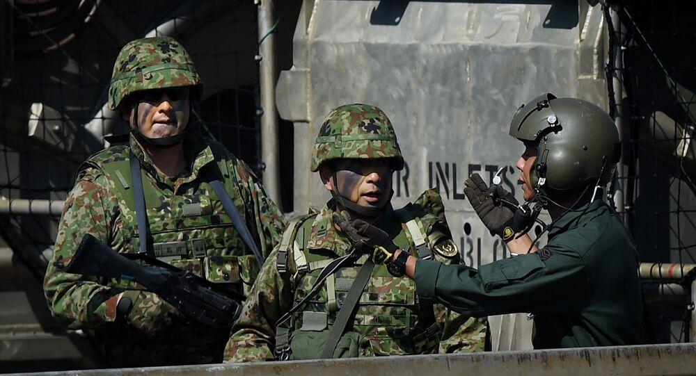 Militares japoneses (archivo)