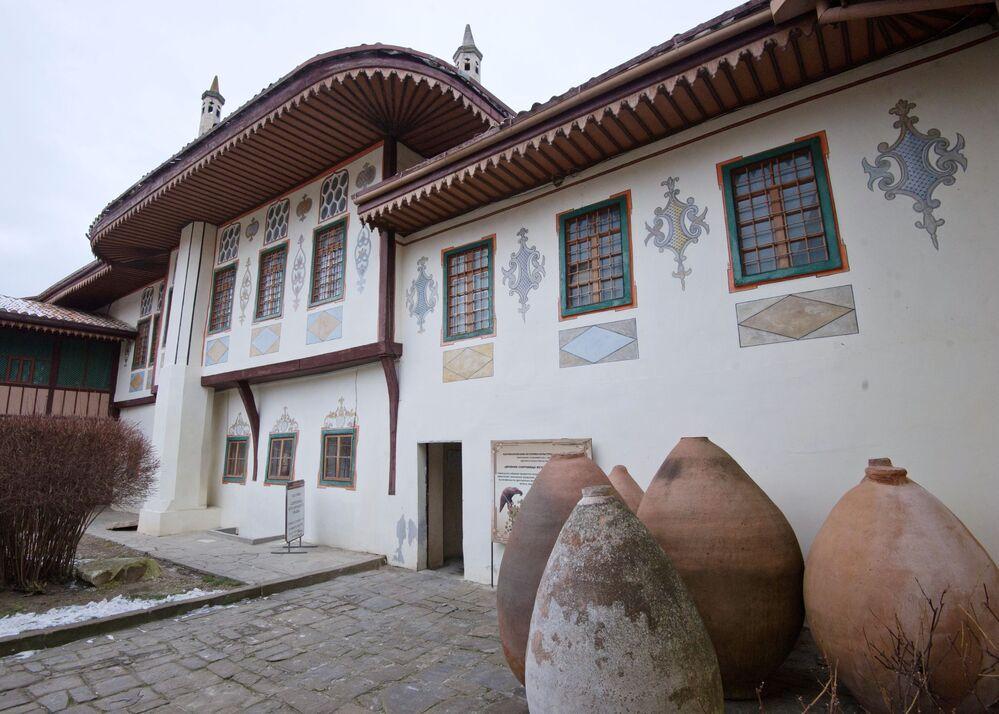 Restauração do Palácio Khan em Bakhchisaray