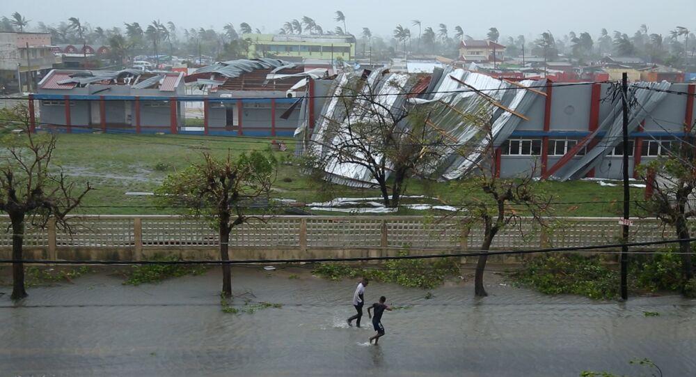 Zonas afetadas pelo ciclone Idai em Moçambique