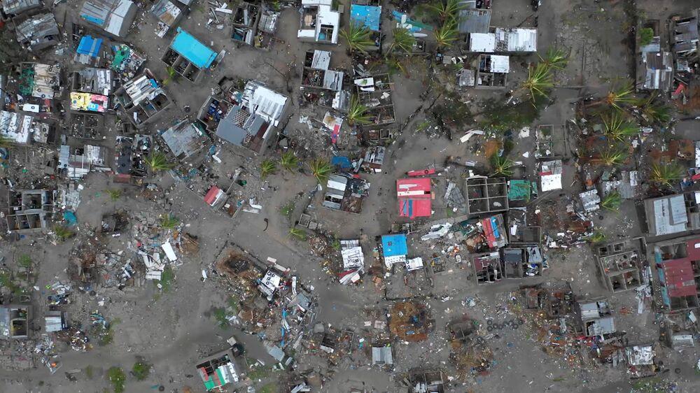Danos causados pelo ciclone tropical Idai, em Moçambique