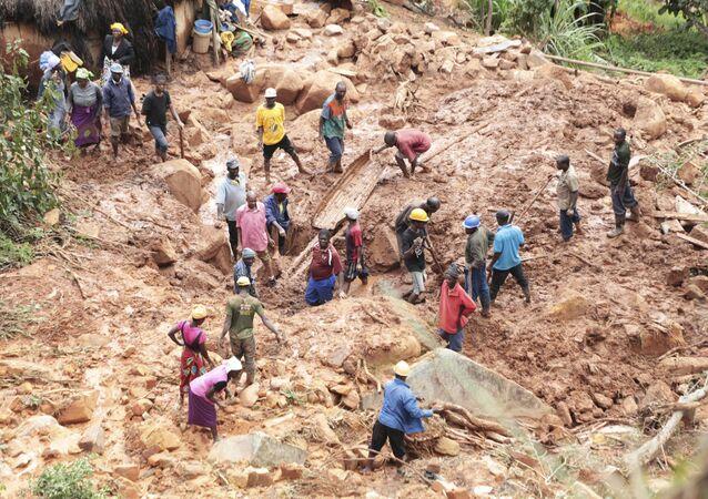Buscas por desaparecidos em Zimbabué por causa do ciclone tropical Idai