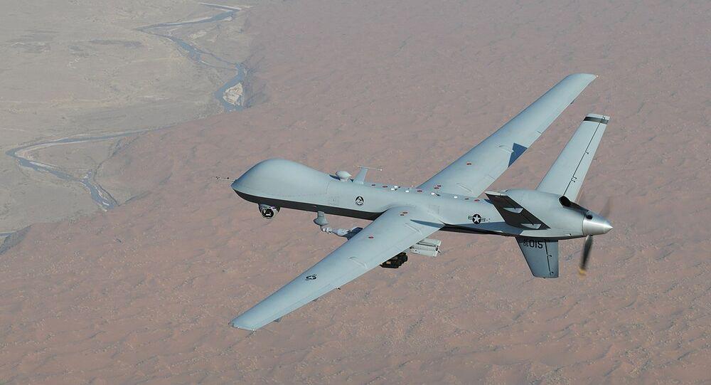 Um veículo aéreo não tripulado MQ-9 Reaper (foto de arquivo)