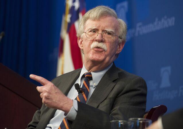 John Bolton, consejero de Seguridad Nacional de EEUU