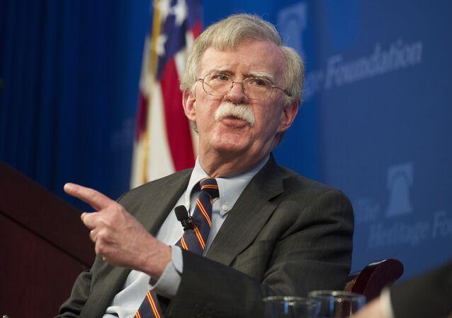 Assessor de Segurança Nacional dos EUA, John Bolton (foto de arquivo)