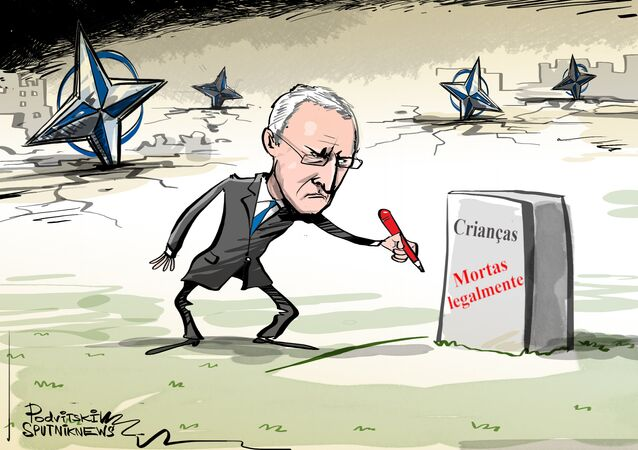 Bombardeios com cara da OTAN