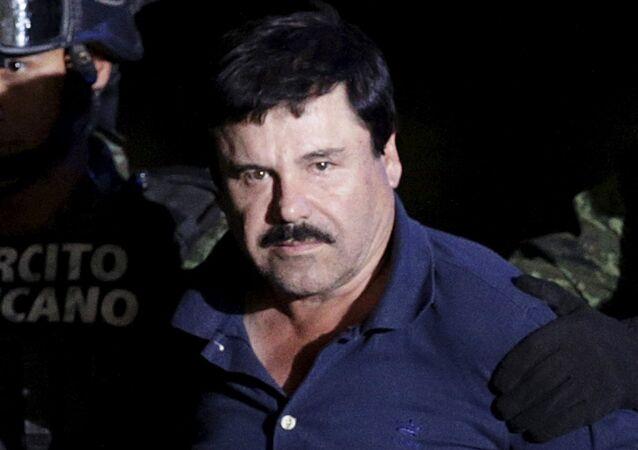 Joaquín Guzmán, El Chapo, em 2016
