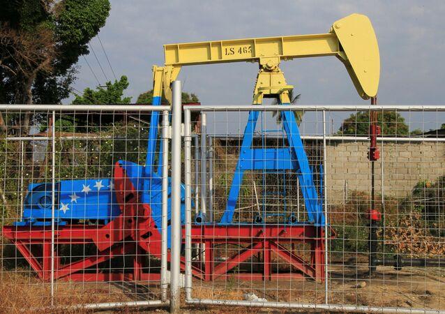 Extração de petróleo na Venezuela (arquivo)
