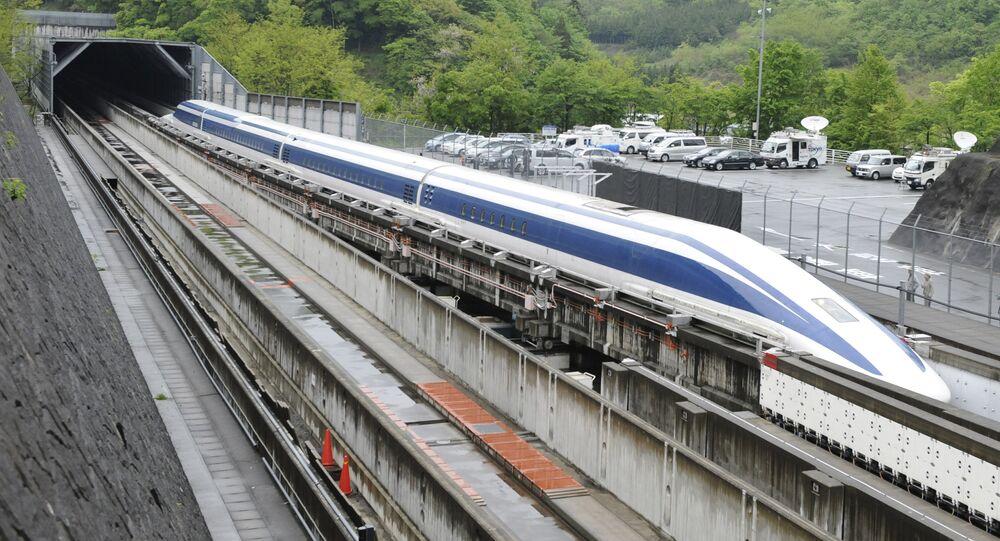 Trem-bala japonês (imagem referencial)