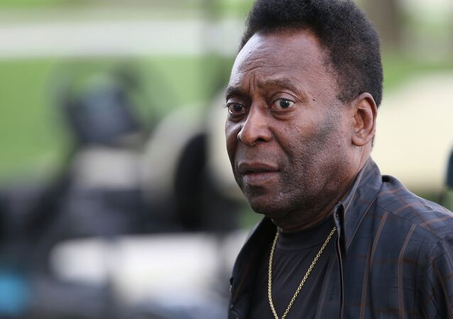 Ex-jogador do Santos e da seleção brasileira, Pelé