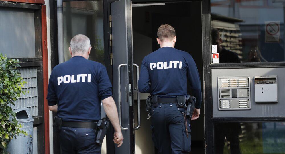 Agentes de polícia dinamarqueses (foto de arquivo)