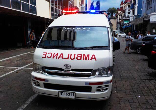 Ambulância tailandesa (imagem referencial)