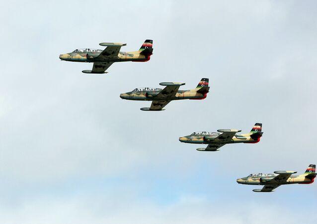 Aviões da Força Aérea da Líbia (imagem referecial)