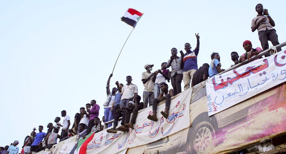 Manifestações no Sudão, 10 de abril de 2019