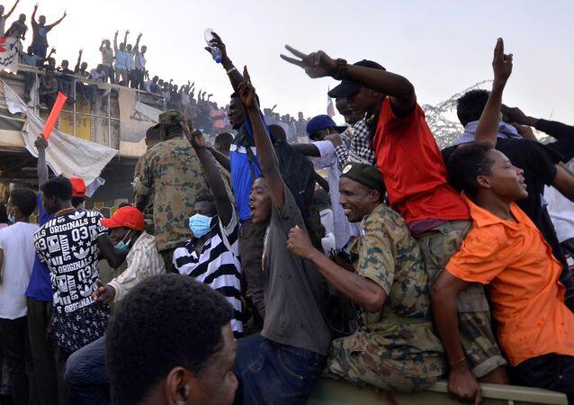 Manifestações no Sudão, 9 de abril de 2019