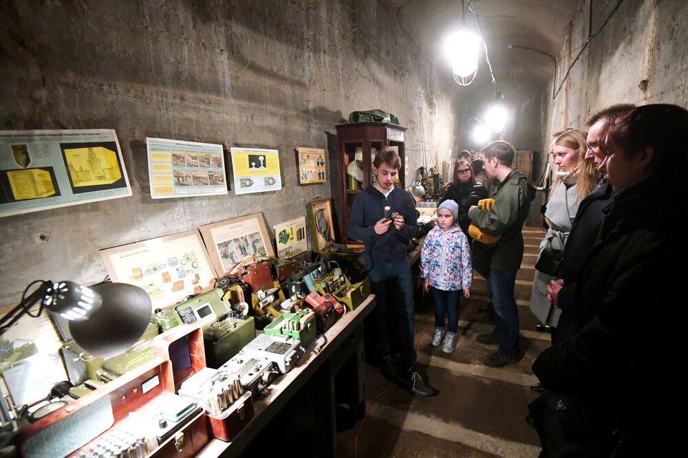 O arquivo do MRE soviético foi esvaziado e a estrutura desclassificada. Em seguida, a instalação foi transformada em um museu