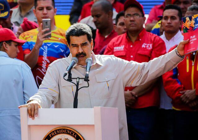 Presidente venezuelano, Nicolás Maduro, em Caracas (arquivo)