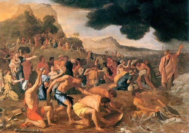 Travessia do mar Vermelho (imagem ilustrativa)